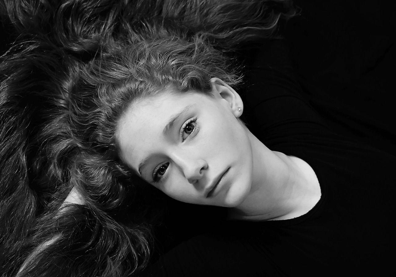 Kvinde, Skønhed, Frisk, Ren, Attraktivt, Model, Portræt