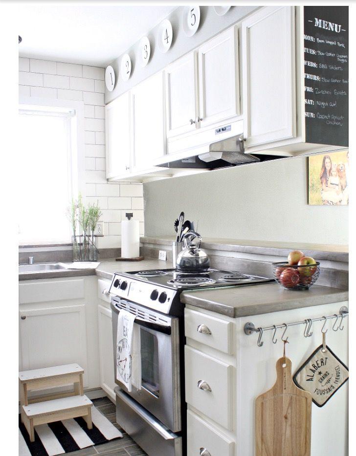 Al Kitchen Small Apartment On A Budget Diy Decor