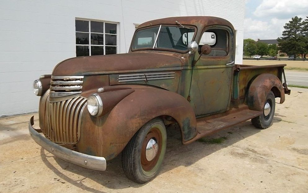 Farm Truck Hot Rod 1946 Chevrolet Pickup Classic Pickup Trucks