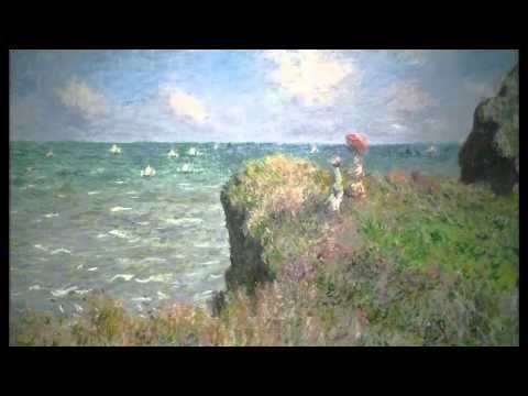 Claude Monet, Cliff Walk at Pourville, 1882