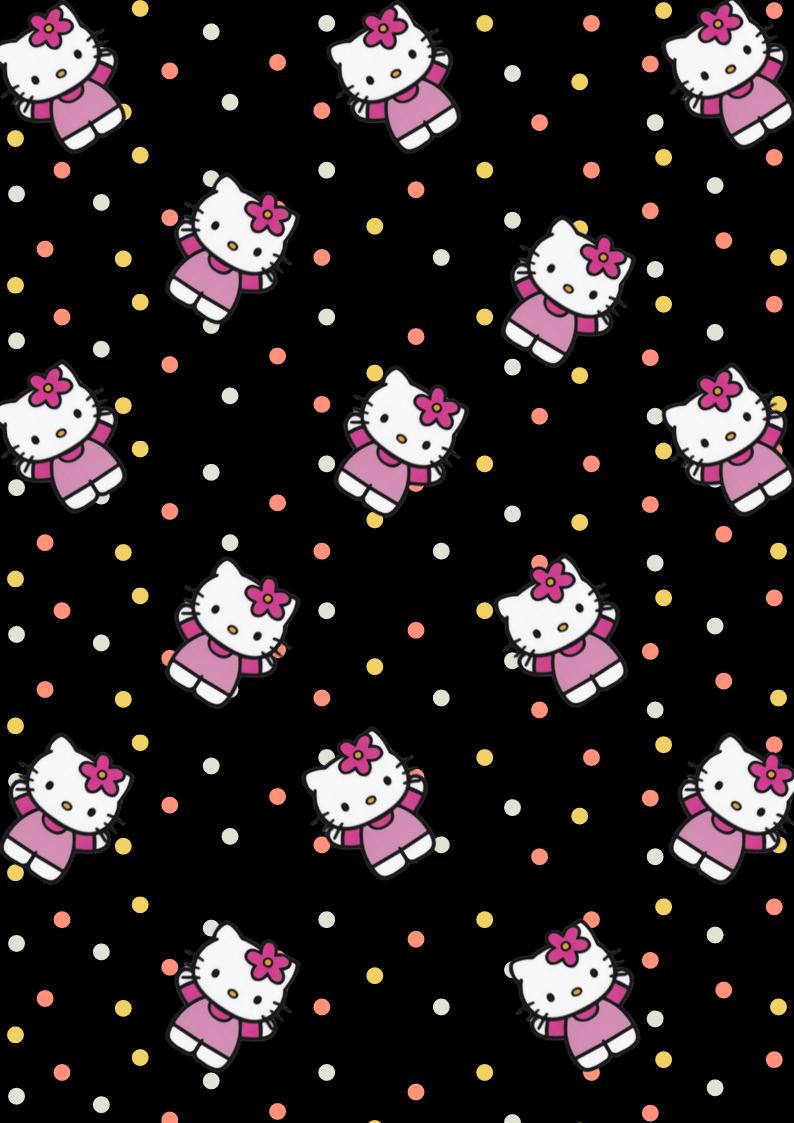 Hello Kitty Black Hello Kitty Backgrounds Hello Kitty Wallpaper Hello Kitty