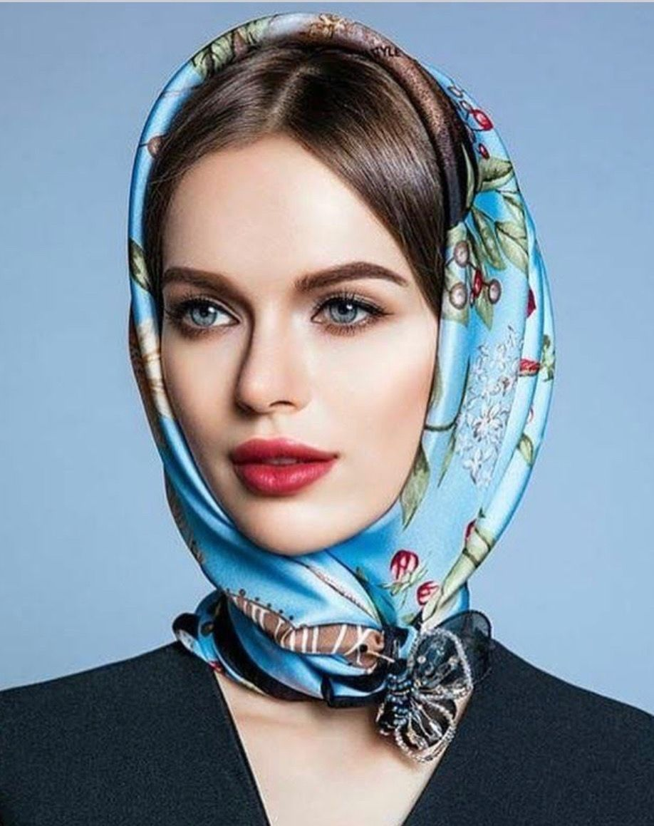 Pin by M.D.B. towing on Silk head scarves in 2020 Silk