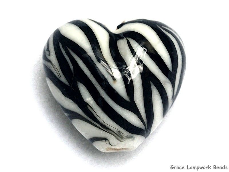 Zebra Stripes Heart