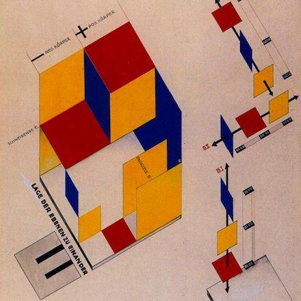 Bauhaus color Kunst und architektur, Dessau und Weimar