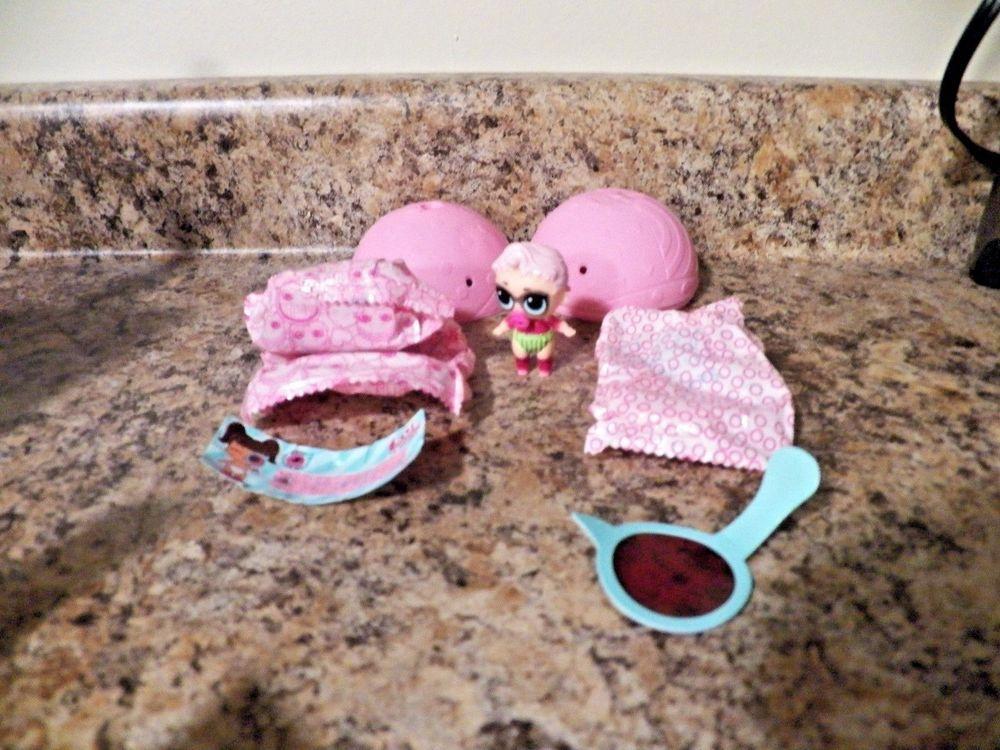 LOL Surprise Doll Lil Sisters Series 4 Eye Spy~ Lil Royal High-ney