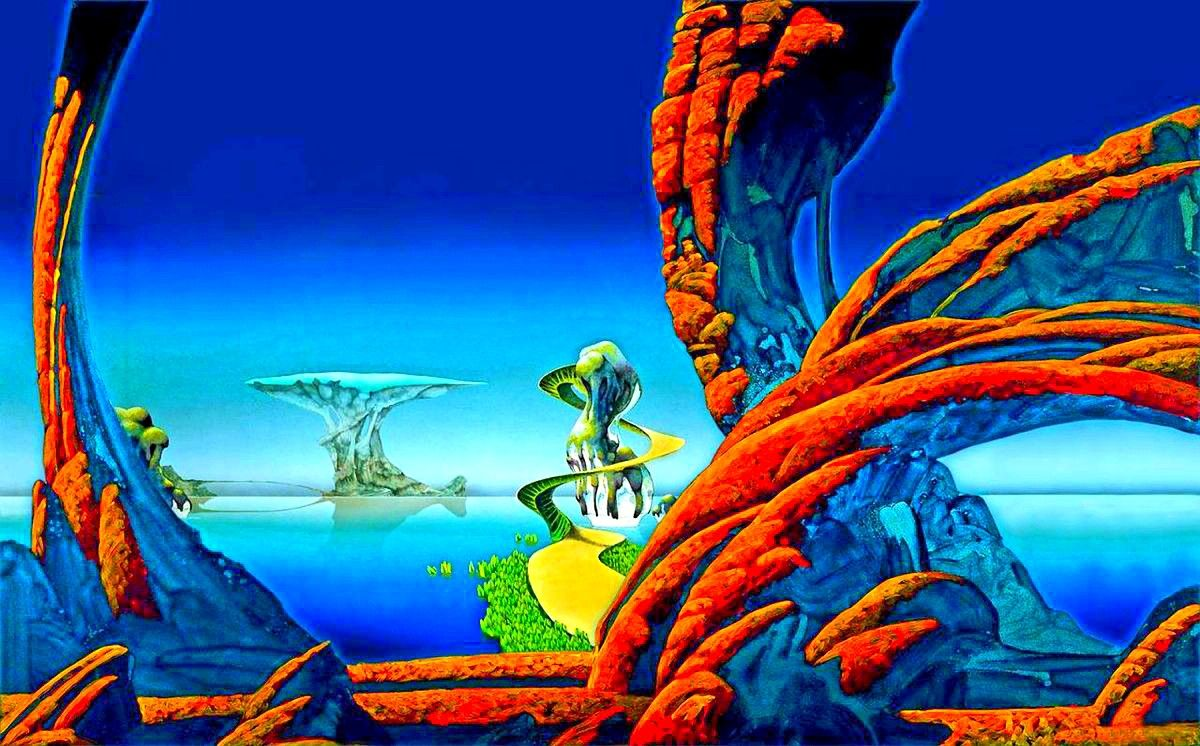 Art of Roger Dean | Roger dean, Science fiction art, 70s sci fi art