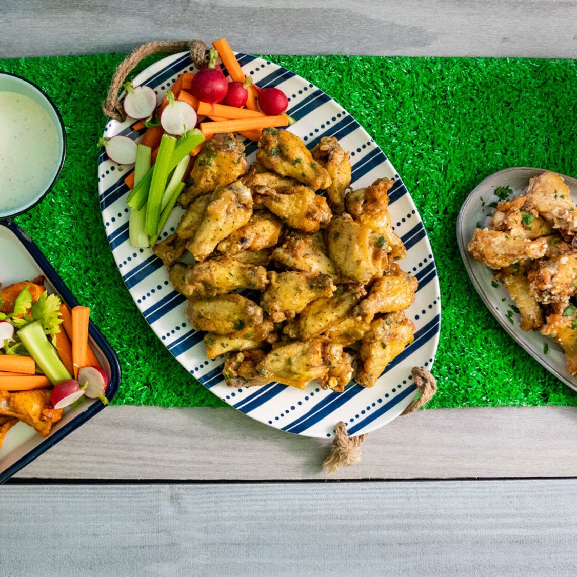 Game day wings recipe in 2020 food network recipes