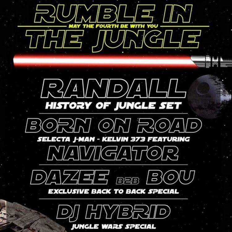 Dj Hybrid May The 4th Be With You Rumble In The Jungle Promo