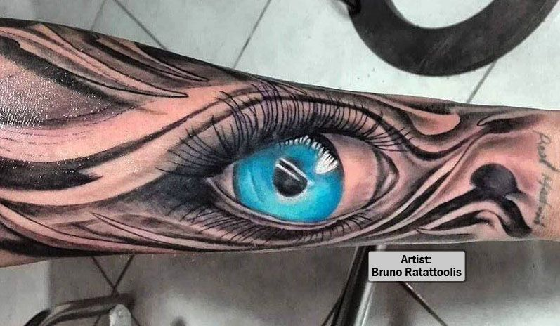 Best 3D Eye Tattoos