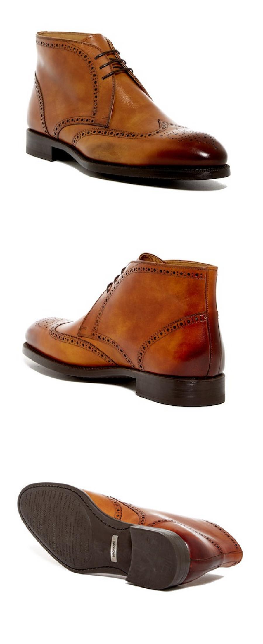 c618b2055c3 Magnanni Regal Leather Chukka Boot  mensfashion shoes for men ...