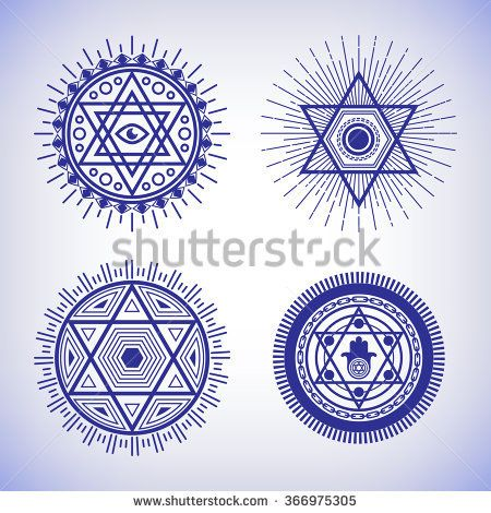 Cool 3d Star Of David Men/'s Tee Image by Shutterstock