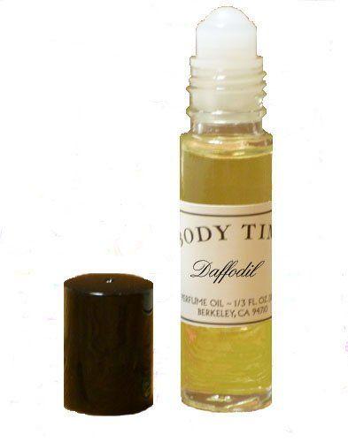 TOPSELLER! Daffodil Perfume Oil-1/3 oz. Roll-On $7.50  #BodyTime®
