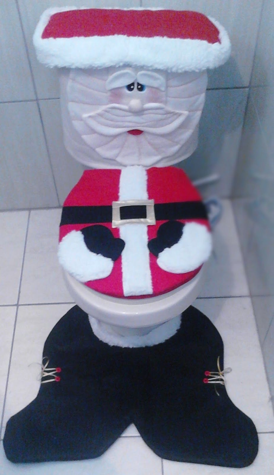 Decoracion de ba os navide os juegos de bano navide os for Decoracion christmas navidenos