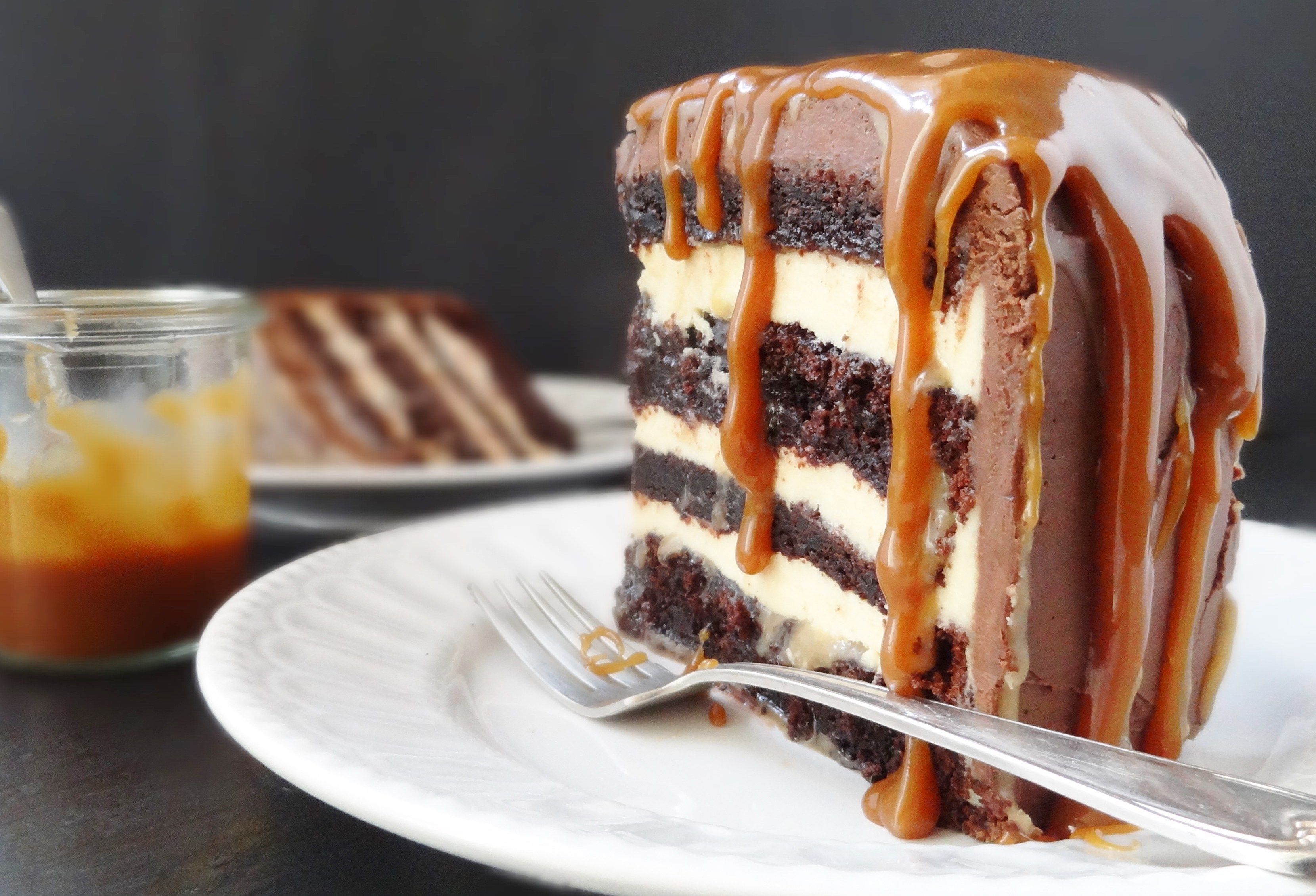 Salted Caramel Chocolate Fudge Cake Best Cake Recipes Chocolate Fudge Cake Cake Recipes