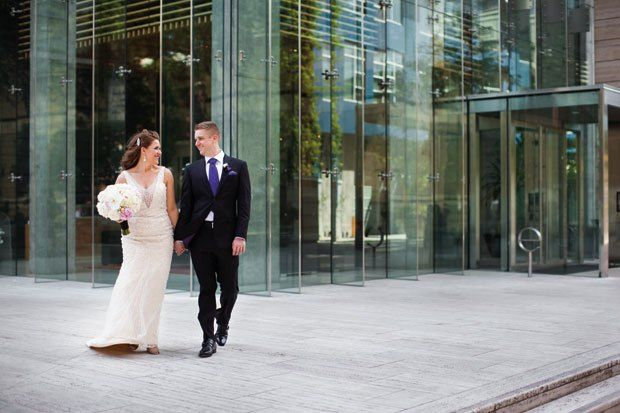 Real Wedding: Desiree Hall & Andrew Beldin  Glamorous Heart | June 6, 2015 | Photographs By Atelier Pictures