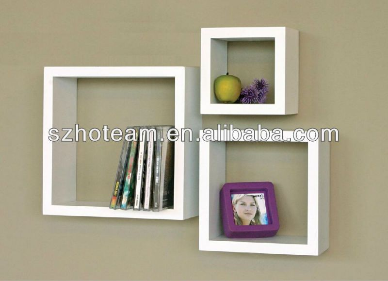 Melannco Floating Shelves Pleasing Plexi Wall Cubes  Acrylic Cube Display Set 3X2 Stepped  Retail Inspiration Design
