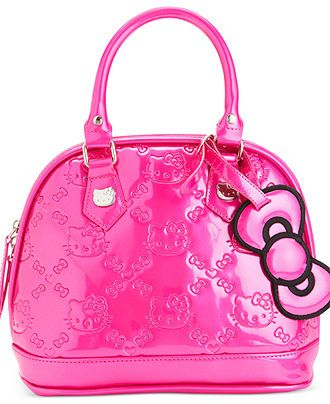 ecaa616c0 Hello Kitty Handbag, Signature Mini Bowler Bag - Hello Kitty - Handbags &  Accessories - Macy's