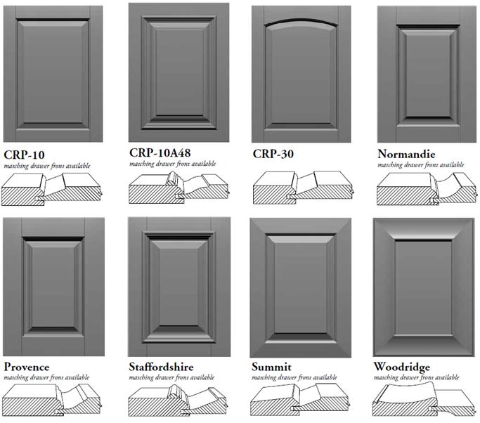 Картинки по запросу shaker cabinet door profiles | Shaker Profile ...