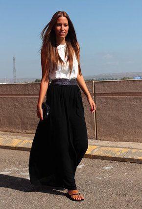 Sfera  Shirt / Blouses, Stradivarius  Skirts and Primark  Belts