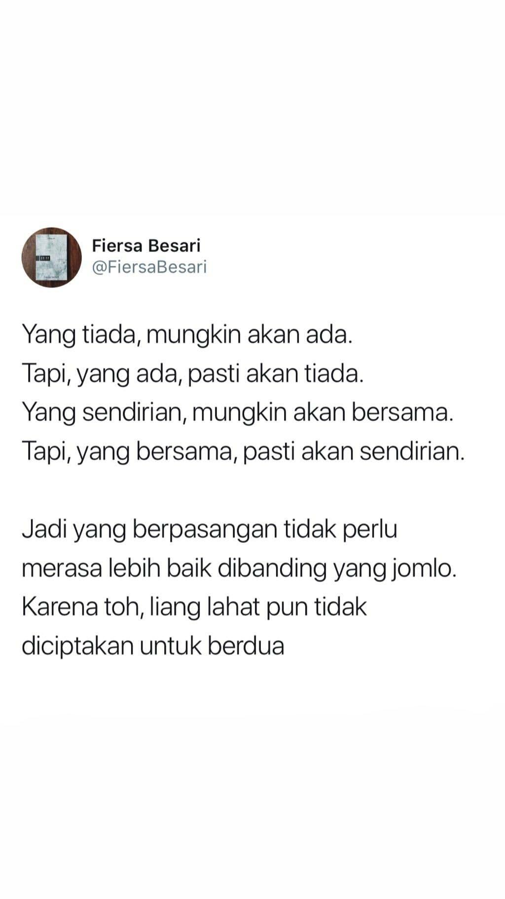 Kata Kata Fiersa Besari Uploaded by user