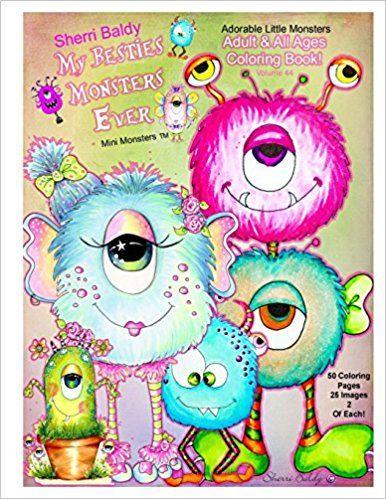 Amazon Sherri Baldy My Besties Monsters Ever Mini Monsters Tm