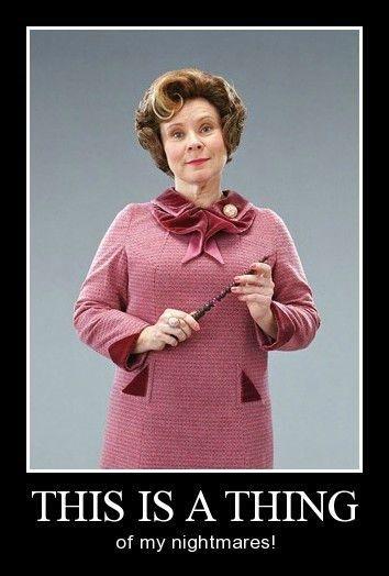 The Face Of Pure Evil Harry Potter Memes Hilarious Dolores Umbridge Harry Potter Memes
