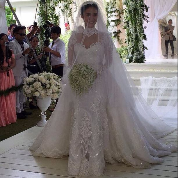 e96d2f6d13f When In Manila. Check Out Heart Evangelista s Wedding Gown! 5