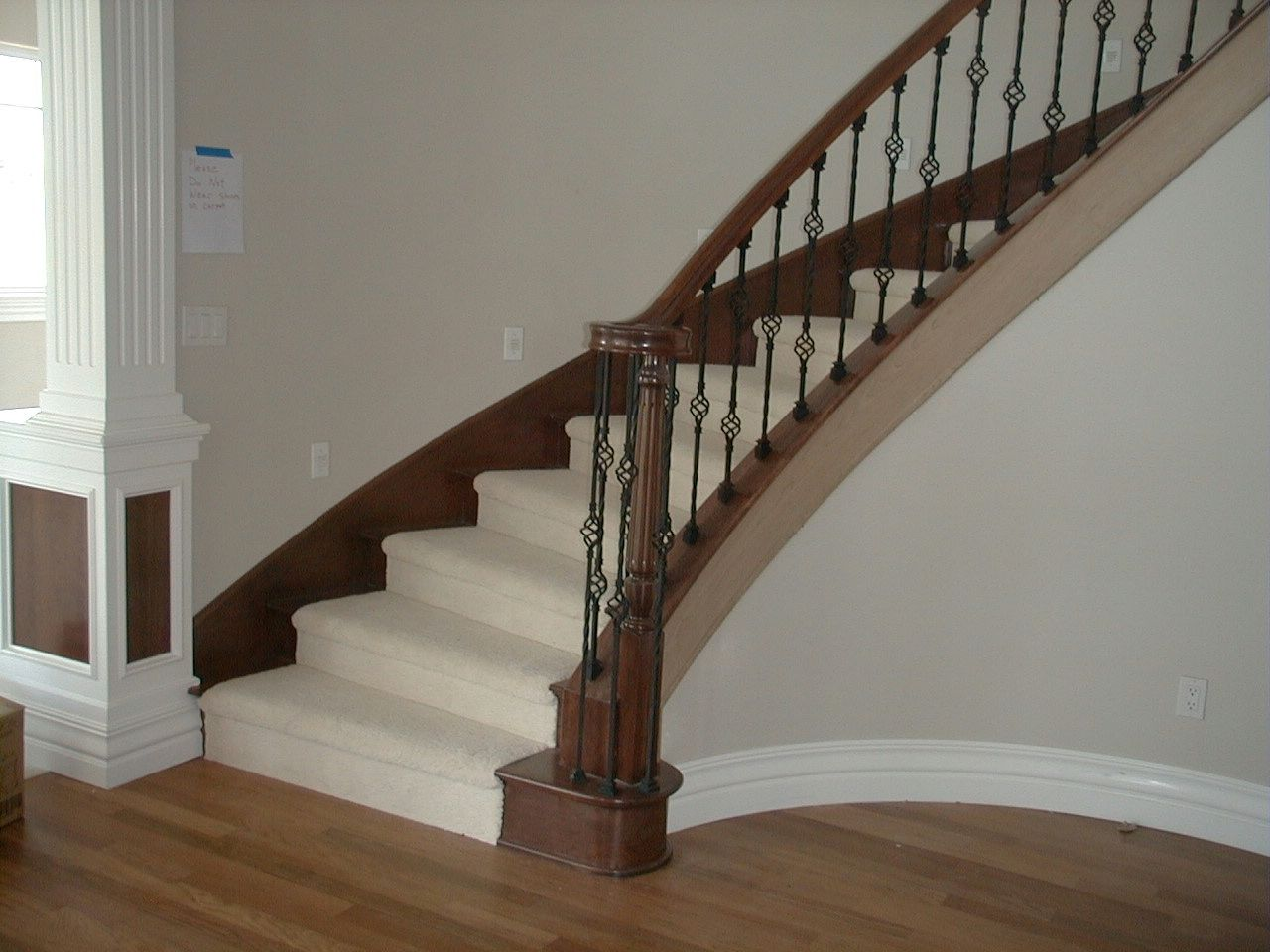 Best Wrought Iron Balusters Wrought Black Iron Baluster 400 x 300