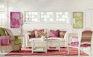 Muebles salon estilo romantico buscar con google for Living estilo romantico