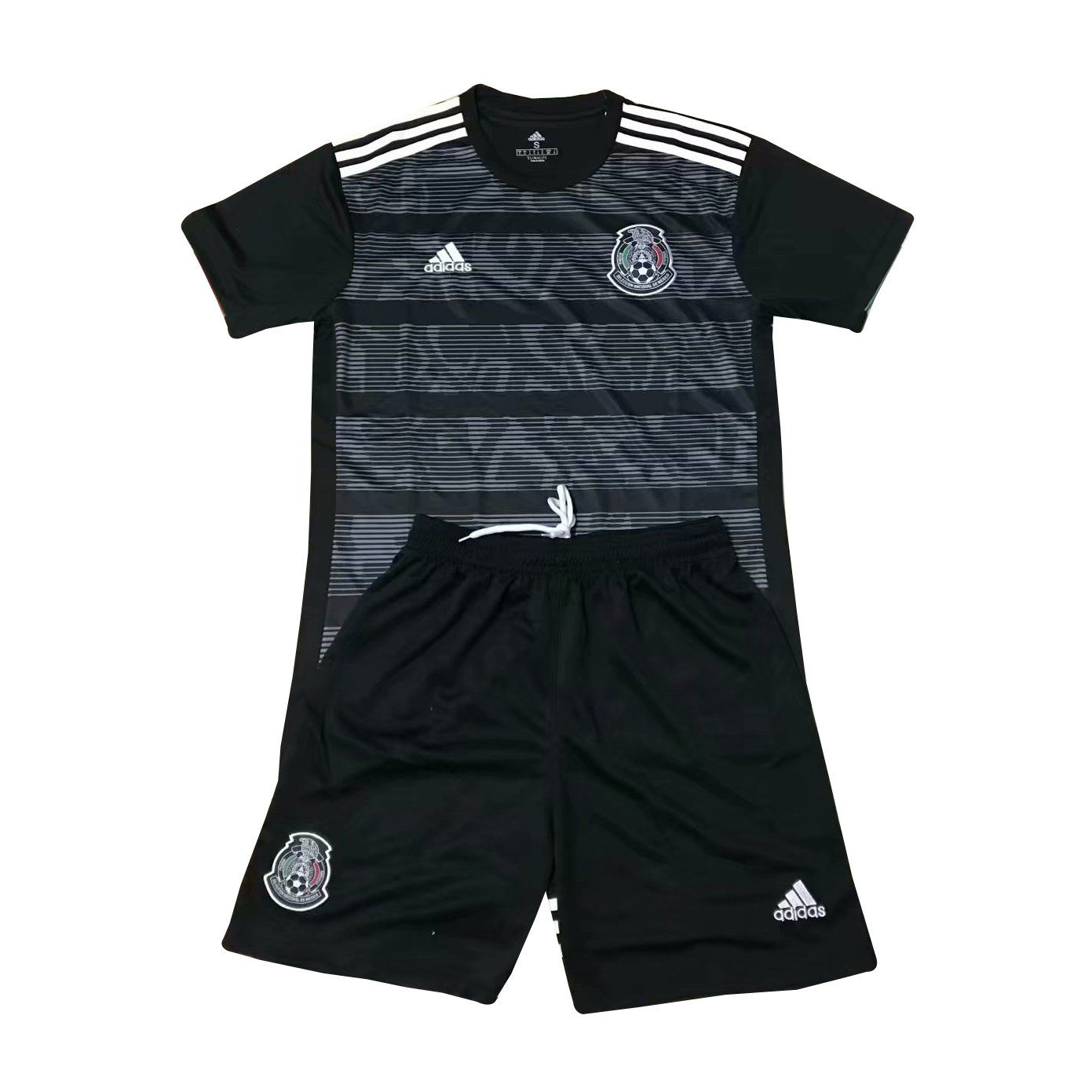 check out cfa7b 43e35 KIDS Mexico National Team YOUTH BLACK Jersey â   | Gold ...