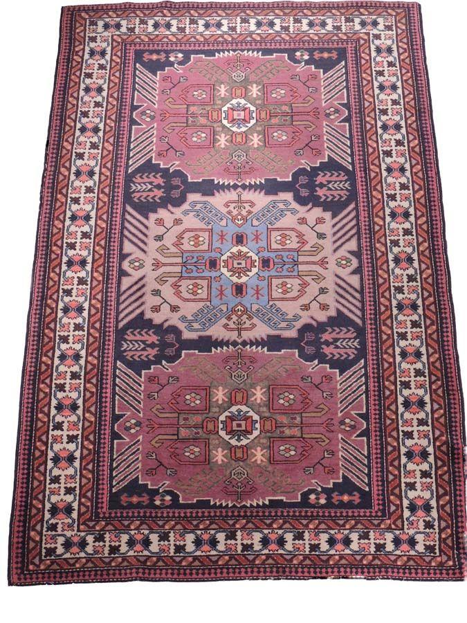 Antique Handmade Oriental Rug Tribal Kazak 100 Vegetable Dyes 100 Wool With Cotton Fringes Handmade Oriental Rugs Rugs Oriental Rug
