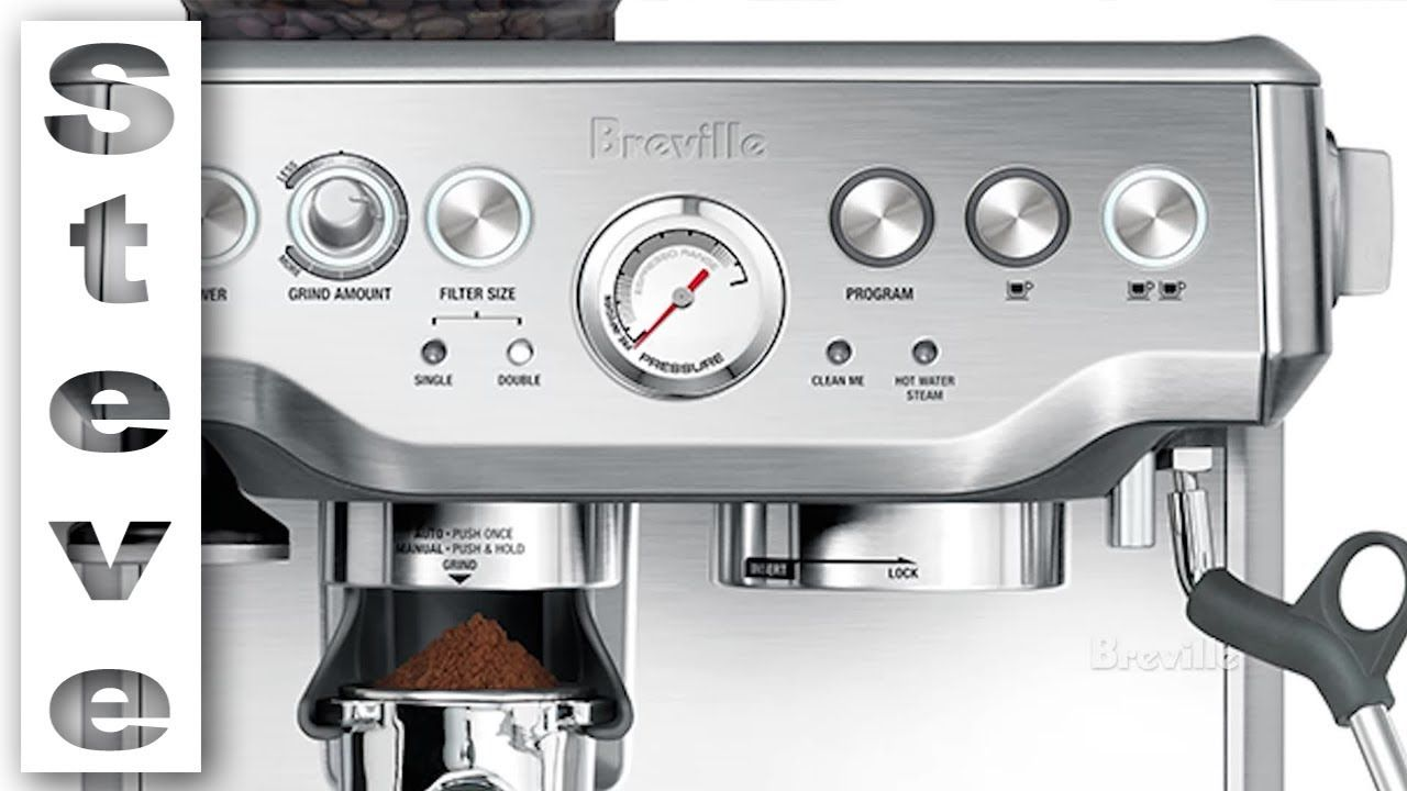Breville barista express unboxing and review youtube