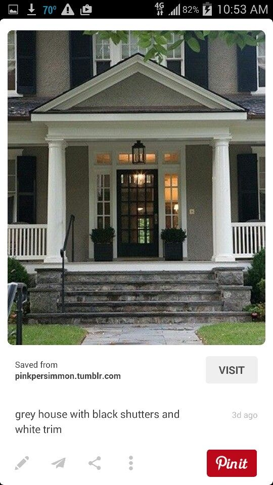 Front porch entry | Our house | Pinterest | Front porches, Porch and ...
