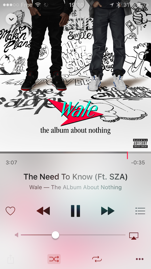 the need to know - wale ft. SZA | The album about nothing