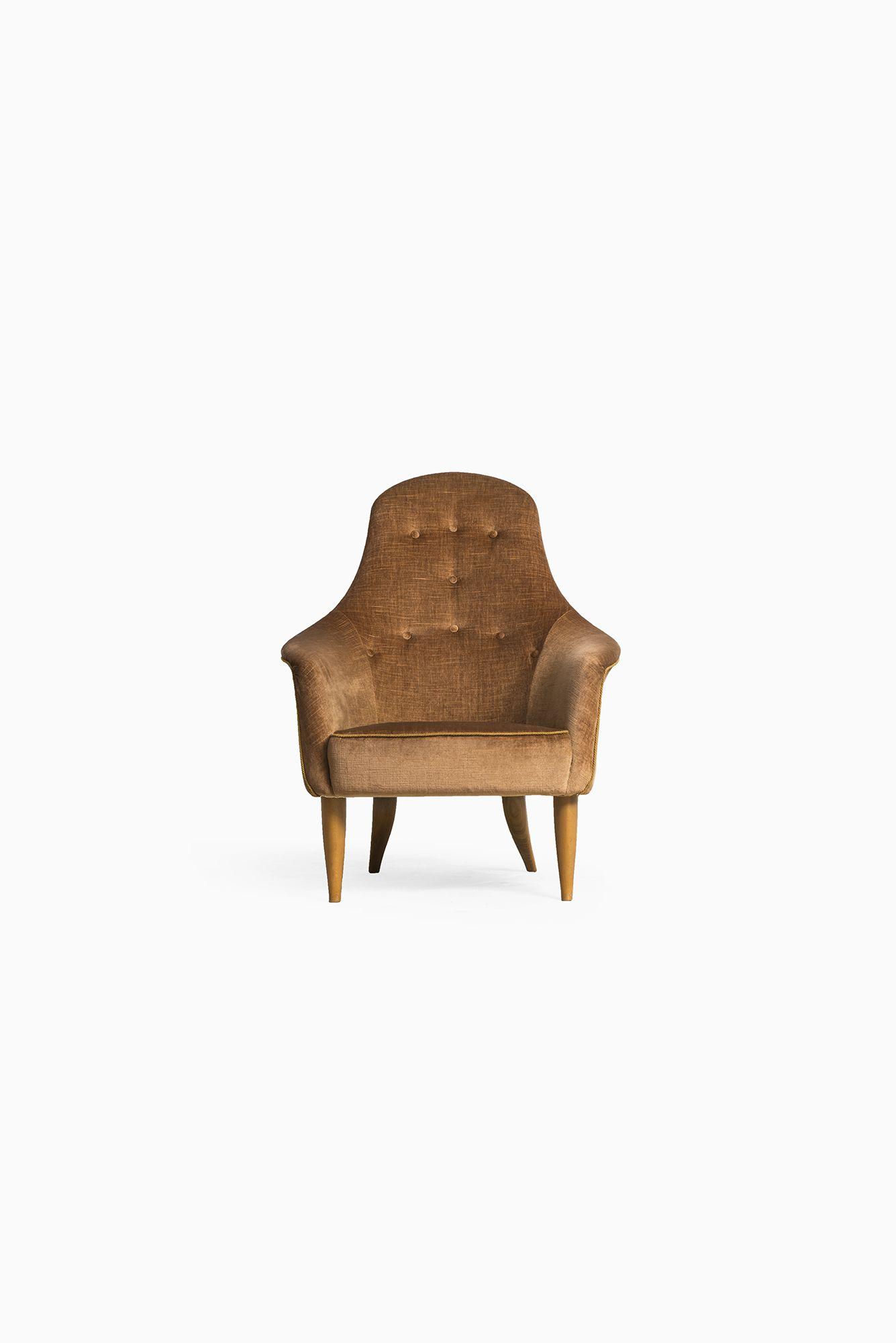 Kerstin Hörlin-Holmquist Stora Adam easy chair at Studio Schalling
