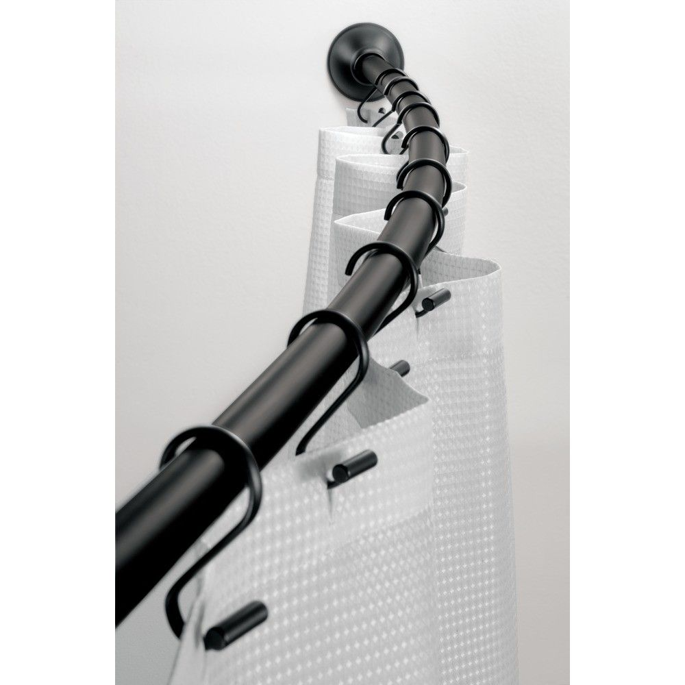Steel shower curtain rod products pinterest shower curtain