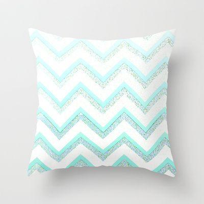 NUDE MINT  Throw Pillow by Monika Strigel - $20.00