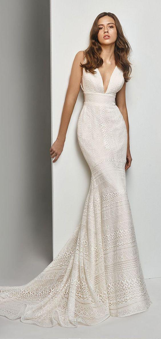 moderne eleganz von enzoani ganz neu interpretiert  kleid