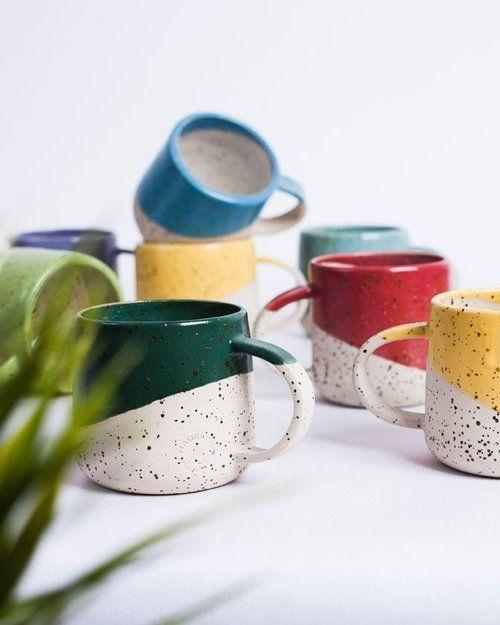 Fotografie #Kaffee # Keramik # handgemacht # Keramik Kaffeetasse Keramik handgemachte Kanne ....