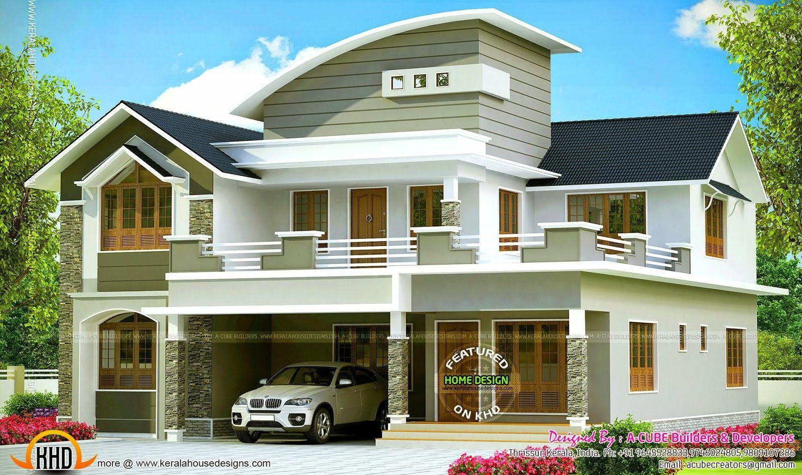 Villaelevationg houses pinterest house modern