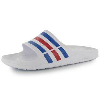 d528f6659c61ed adidas Duramo Slide On Mens Pool Shoes - SportsDirect.com