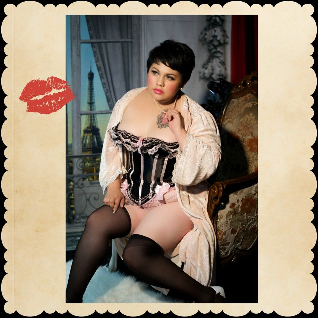 Plus size boudoir postcard style in Los Angeles CA by Best Boudoir LA Book Today! http://bestboudoirla.com/contactus