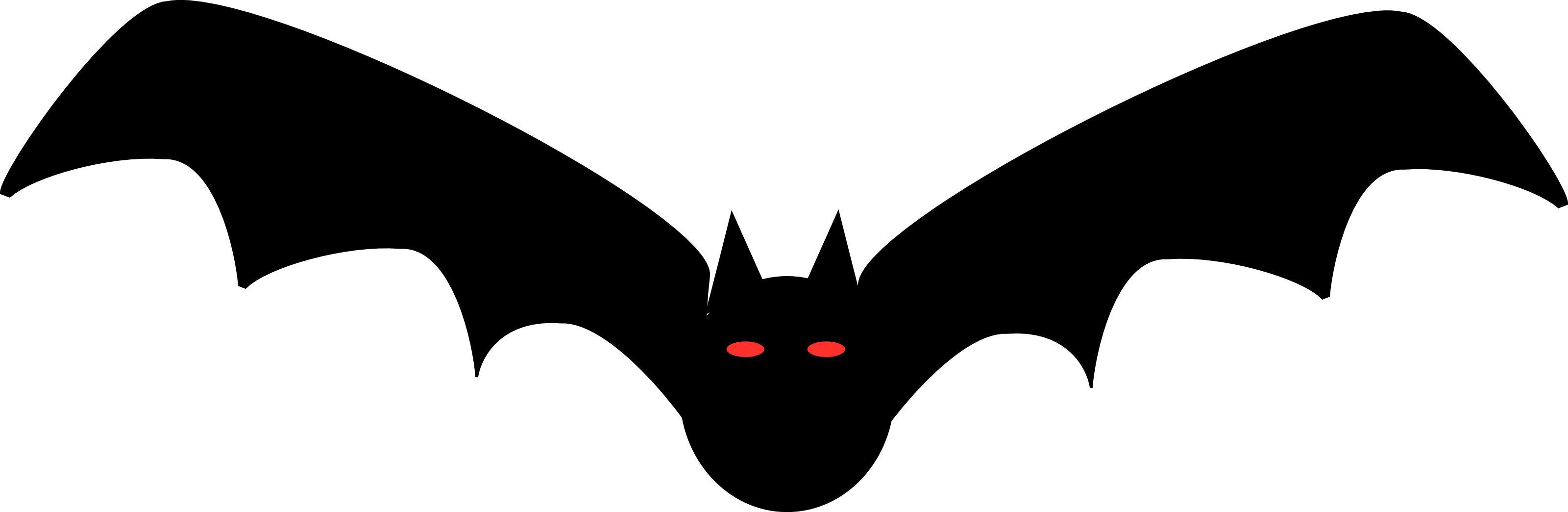 free halloween clipart illustration of black bat with red eyes rh pinterest com Happy Halloween Clip Art Halloween Witch Clip Art
