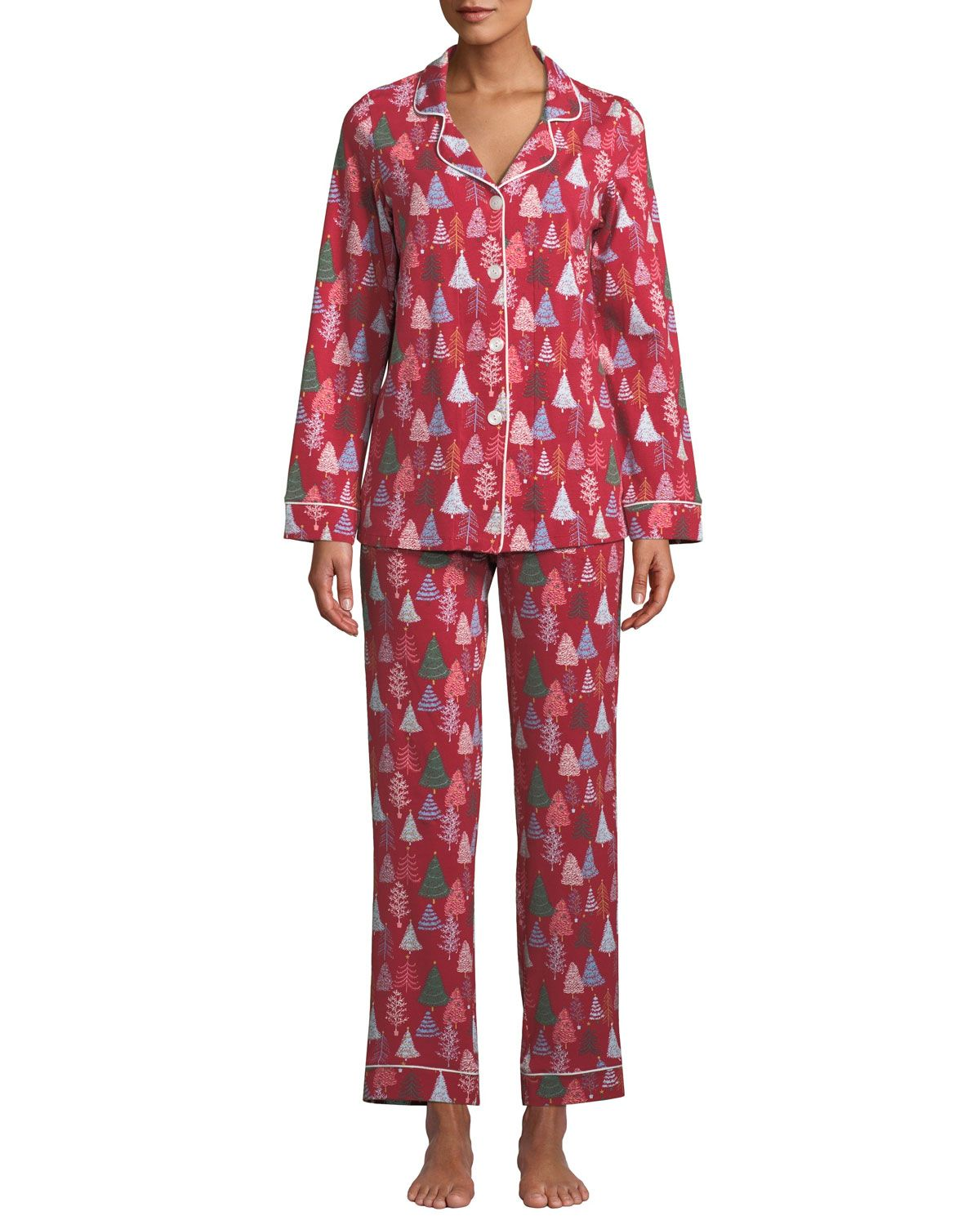 Bedhead Holiday Christmas Trees Classic Pajama Set