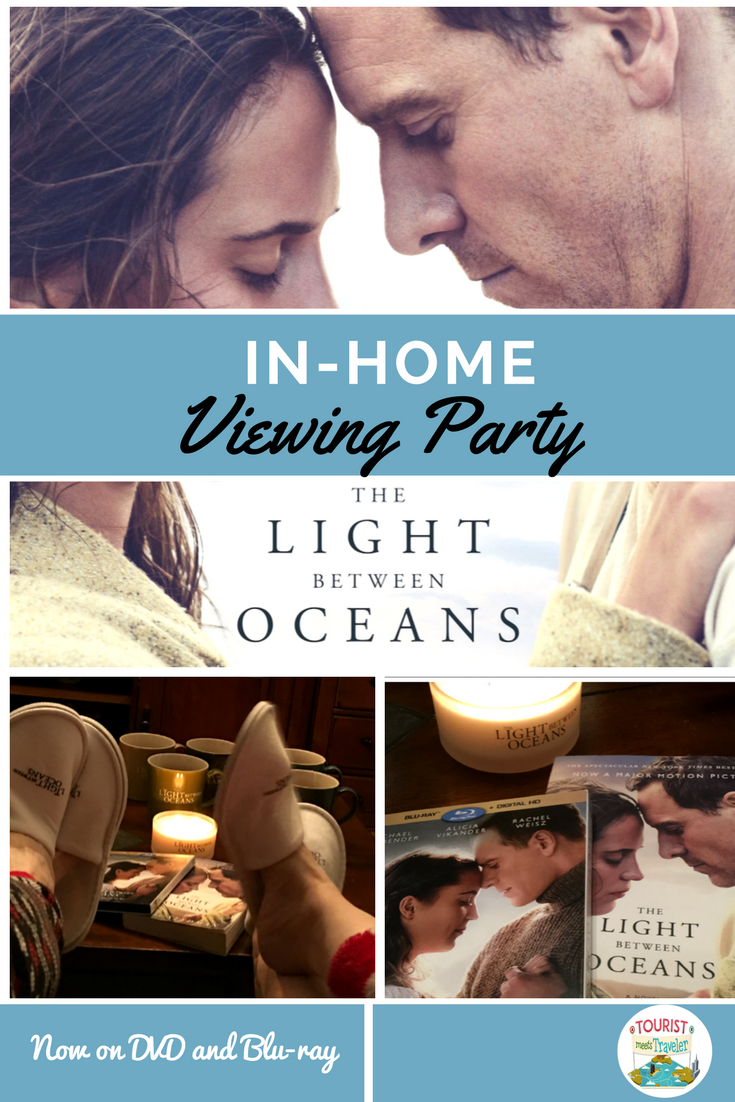 The Light Between Oceans At Home Screening Party With Friends Lightbetweenoceansbluray The Light Between Oceans Ocean S Movies Movie Night Kit