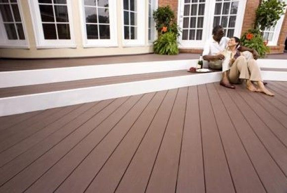 Azek Deck In Kona From Our Harvest Collection Offering Pleasing