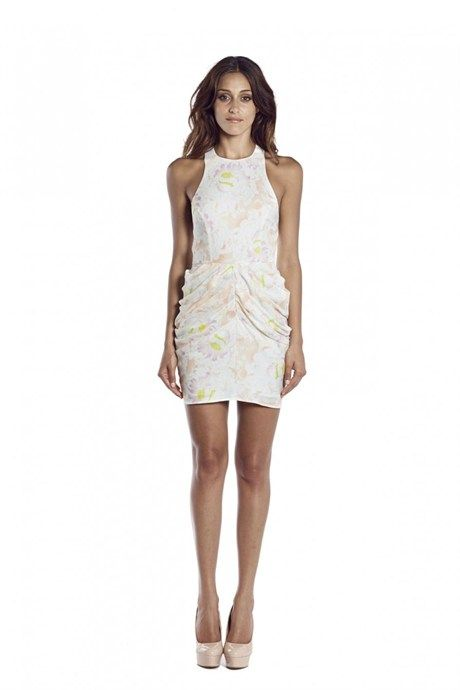 FOREVER THE YOUNG DRAPED MINI DRESS by Shona Joy at Carousel - $260.00 AUD