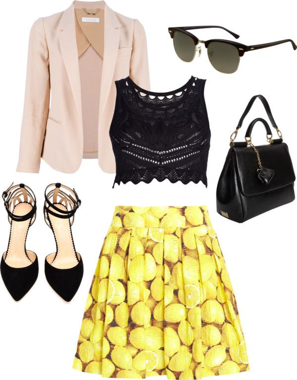 """When Life Gives You Lemons"" by tarheeled on Polyvore"
