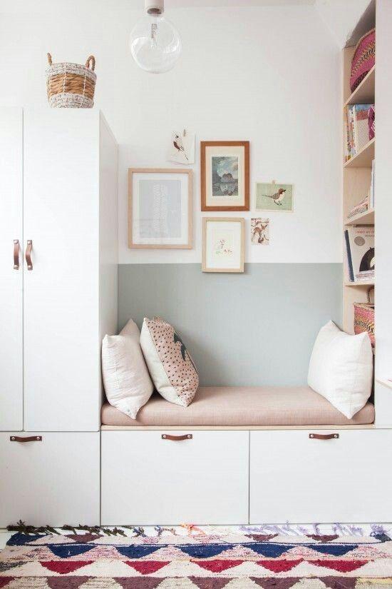 Rangement Et Coin Lecture Ikea Chambre Enfant Placard Chambre