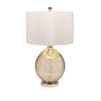 Imax Avignon Mercury 30 Table Lamp Products Table Lamp Glass Table Mercury Glass